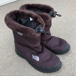 bcf88d54b Women North Face Nuptse Boots on Poshmark